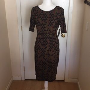 M LuLaRoe Julia Dress